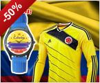 Promo camiseta amarilla + reloj